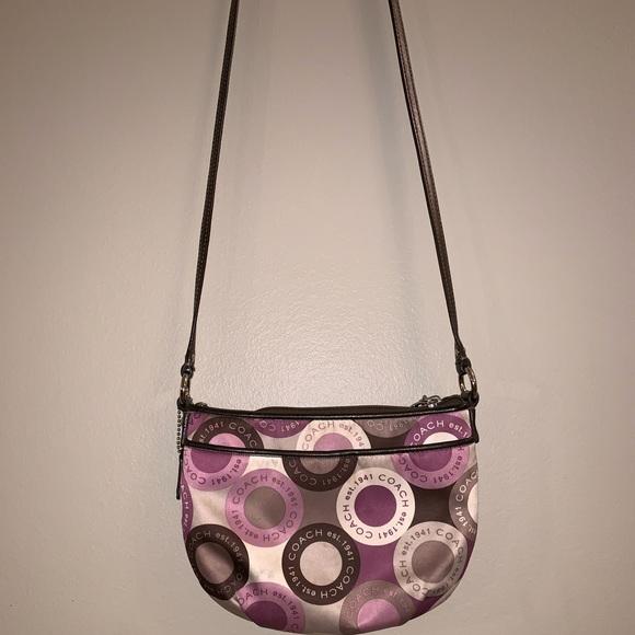 Coach Handbags - Funky, Colorful, Coach Crossbody